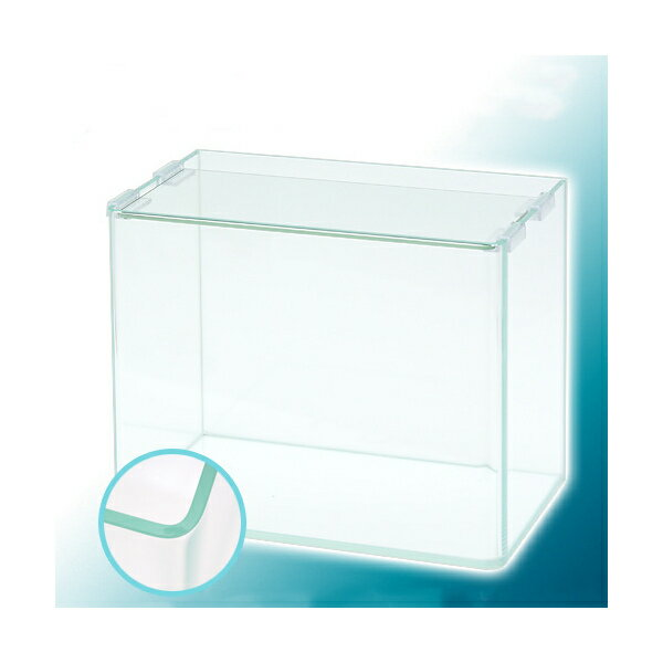 スーパークリア 前面曲げガラス水槽 アクロ30R(30×18×24cm) 30cm水槽(単体) Aqullo お一人様5点限り 関東当日便