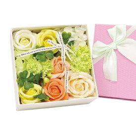 SAVON FLOWER リボンローズ BOX グリーン 関東当日便