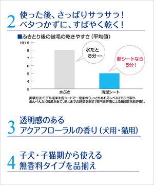ライオンペットキレイボディさっぱり清潔シート猫用25枚2個入り【HLS_DU】関東当日便