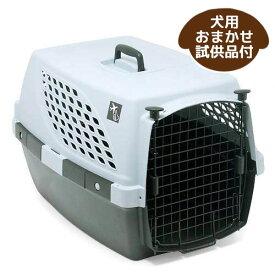 ペットスイート L グレー 小型・中型犬用キャリーバッグ キャリーケース クレート(15kgまで) お一人様1点限り おまかせ試供品付き 関東当日便