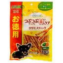 ライオン PETKISS つぶつぶチップで歯のケア ササミスティック 野菜 お徳用 130g 関東当日便