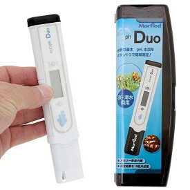 マーフィード エコペーハー DUO 熱帯魚飼育等の水質検査に pH計 pH測定器 ペーハー測定器 水質測定器 関東当日便