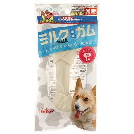 ドギーマン ミルク風味ガム ボーンM 1本 犬 おやつ 関東当日便