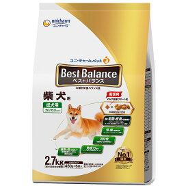 ベストバランス カリカリ仕立て 柴犬用 2.7kg(450g×6袋) 関東当日便