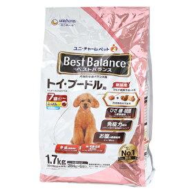 ベストバランス ふっくら仕立て トイ・プードル用 7歳が近づく頃から始める低脂肪 1.7kg(284g×6袋) 関東当日便