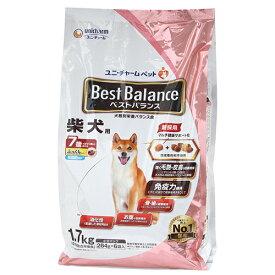 ベストバランス ふっくら仕立て 柴犬用 7歳が近づく頃から始める低脂肪 1.7kg(284g×6袋) 関東当日便