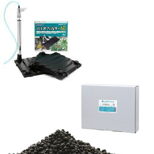 Leaf Pro Soil リーフプロソイル ノーマル 8L + バイオフィルター60 熱帯魚 用品 関東当日便