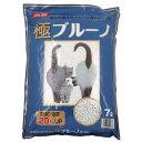 猫砂 ネコの紙砂 極ブルーノ 7L 6袋入り 猫砂 紙 固まる 燃やせる お一人様1点限り 関東当日便