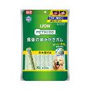 ライオン PETKISS 食後の歯みがきガム 中・大型犬用 12本入り 関東当日便