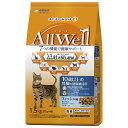 AllWell 10歳以上の腎臓の健康維持用 フィッシュ味 挽き小魚とささみフリーズドライパウダー入り 1.5kg(375g×4…