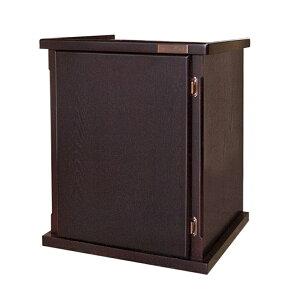 □メーカー直送 (組立済)水槽台 ウッドキャビ ダークブラウン 600×450 60cm水槽用(キャビネット) 同梱不可・別途送料