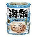 アイシア 海缶ミニ3P しらす入りかつお 60g×3缶パック キャットフード 関東当日便