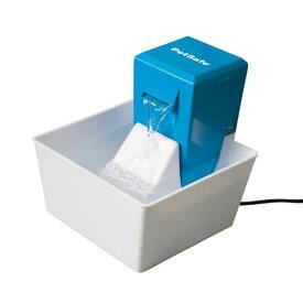 水飲み アクアキューブ ペットファウンテン ブルー 犬 猫 給水器 循環式 関東当日便