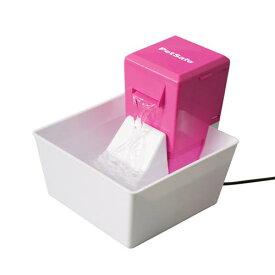 水飲み アクアキューブ ペットファウンテン ピンク 犬 猫 給水器 循環式 関東当日便