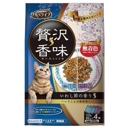イースター グルメライフ 贅沢香味 いわし節の香り 320g(80g×4袋) 関東当日便
