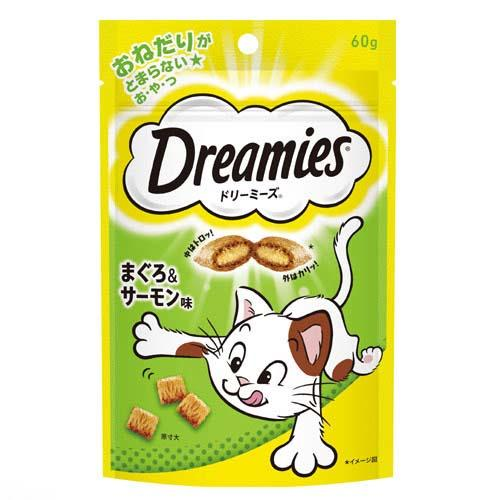 ドリーミーズ まぐろ&サーモン味 60g 2袋入り【HLS_DU】 関東当日便