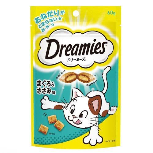 ドリーミーズ まぐろ&ササミ味 60g 2袋入り【HLS_DU】 関東当日便
