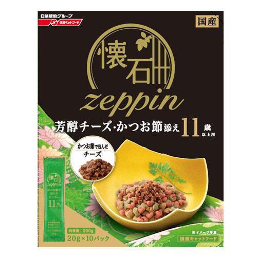 日清 懐石zeppin 11歳以上用 芳醇チーズ・かつお節添え 200g 関東当日便