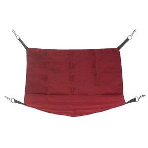 洗えるペットベッド 33×33cm レッド 小動物ベッド お掃除簡単 ちぃハンモック チンチラ デグー モモンガ 関東当日便