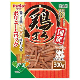 ペティオ 鶏まろ 野菜入り 300g 犬 おやつ 関東当日便