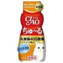 CIAO(チャオ) 乳酸菌ちゅ〜る とりささみ 120g 国産 関東当日便