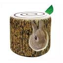 ミニアニマン ウサギのふわふわ きりかぶベッド 小動物 ハウス 関東当日便