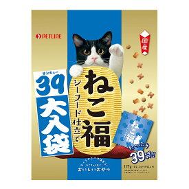 日清 ねこ福 39大入り袋 シーフード味 117g 関東当日便