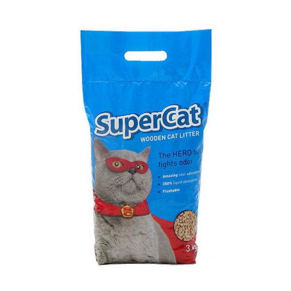 猫砂 ゼンスイ SuperCat 猫砂 3kg システムトイレ用 お一人様5点限り【HLS_DU】 関東当日便