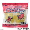 有*10个mitani昆虫果冻16g的kabutomushikuwagatazeri关东当天班