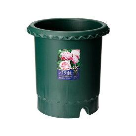 リッチェル バラ鉢 ダークグリーン 10号 φ30×30cm 5個入 お一人様1点限り 関東当日便