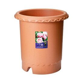 リッチェル バラ鉢 ブラウン 12号 φ36×36cm 5個入 お一人様1点限り 関東当日便