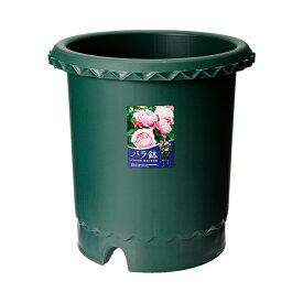 リッチェル バラ鉢 ダークグリーン 12号 φ36×36cm 5個入 お一人様1点限り 関東当日便