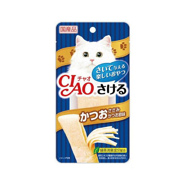 ボール売り いなば CIAO(チャオ) さける かつお ささみ かつお節味 25g 1ボール6袋【HLS_DU】 関東当日便