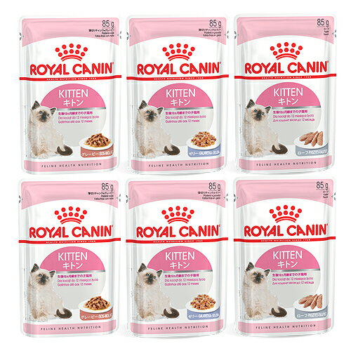 ロイヤルカナン FHN−WET 成長後期の子猫用 食べ比べセット 3種各2袋 計6袋【HLS_DU】 関東当日便