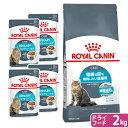 ロイヤルカナン 猫 健康な尿の維持ドライウェットセット ドライ2kg×1袋 ジップ付 + パウチ85g×4袋 関東当日便