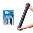 バックスクリーン ARTI(アルティ)120 ジェットブラック(125×50cm)+フィルム貼り道具セット 関東当日便