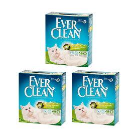 猫砂 エバークリーン 小粒・芳香タイプ 6L ベントナイト トイレ 固まる 3個 お一人様1点限り 関東当日便