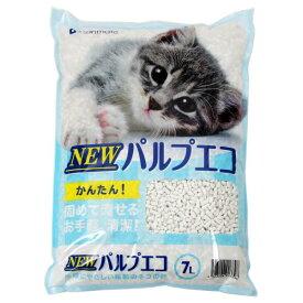 猫砂 サンメイト NEWパルプエコ 7L 7袋入り お一人様1点限り 関東当日便