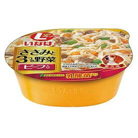 いなば Lカップ ささみと3つの野菜 ビーフ入り 280g 関東当日便