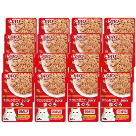 いなば CIAO Juicy まぐろ 60g 16袋入り 関東当日便