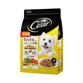 シーザー ドライ 成犬用 チキンと4種の農園野菜入り 小粒 3kg ドッグフード 関東当日便