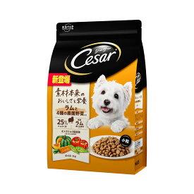 シーザー ドライ 成犬用 ラムと4種の農園野菜入り 小粒 3kg ドッグフード 関東当日便