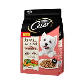 シーザー ドライ 成犬用 ツナと4種の農園野菜入り 小粒 3kg ドッグフード 関東当日便