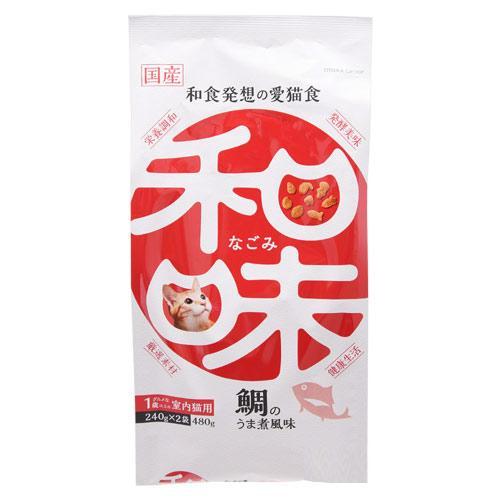 アースバイオ 和味 鯛のうま煮風味 480g(240g×2袋) 関東当日便