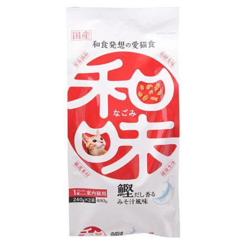 アースバイオ 和味 鰹だしの香るみそ汁煮風味 480g(240g×2袋) 関東当日便