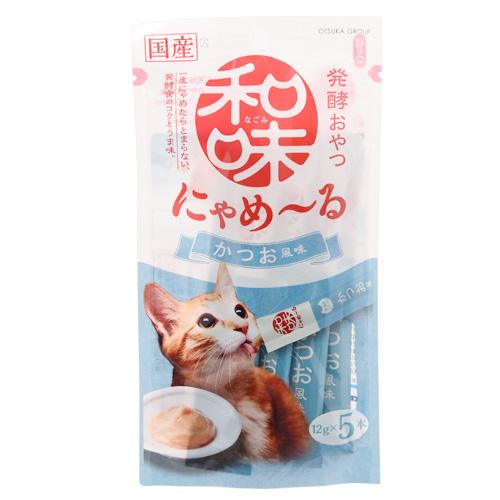 アースバイオ 和味 にゃめーる かつお風味 12g×5袋 関東当日便