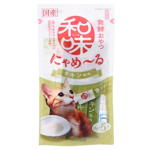 アースバイオ 和味 にゃめーる チキン風味 12g×5袋 関東当日便