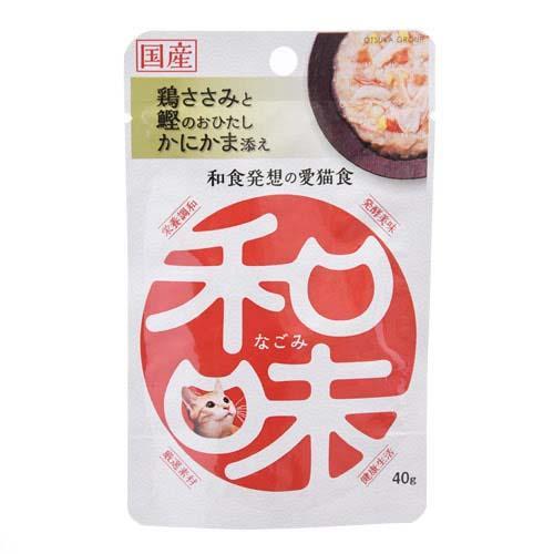 アースバイオ 和味 鶏ささみと鰹のおひたしかにかま添え 40g 2袋入り 関東当日便