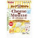 ペティオ カップdeドルチェ チーズ風味ムース 16g×7個入 関東当日便