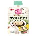ペティオ 素材そのまま とろっと煮込んだ カツオ&ササミ ペースト For Cat 90g 関東当日便